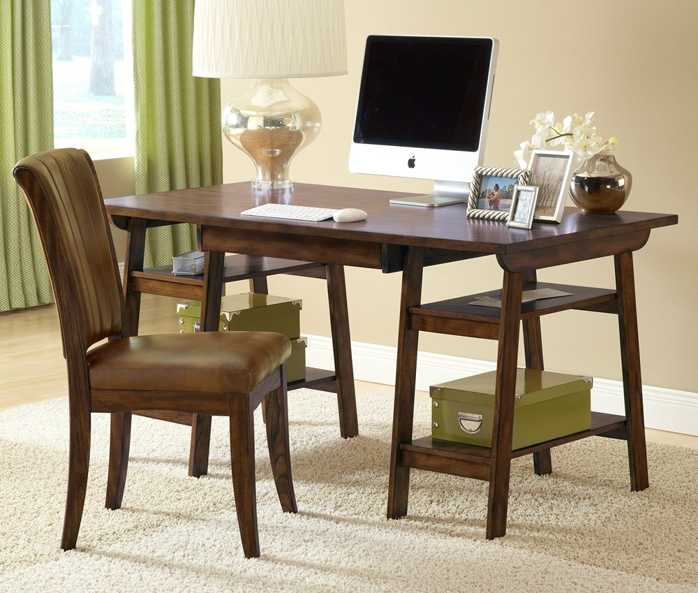 Hillsdale Parkglen Desk and Chair - Cherry