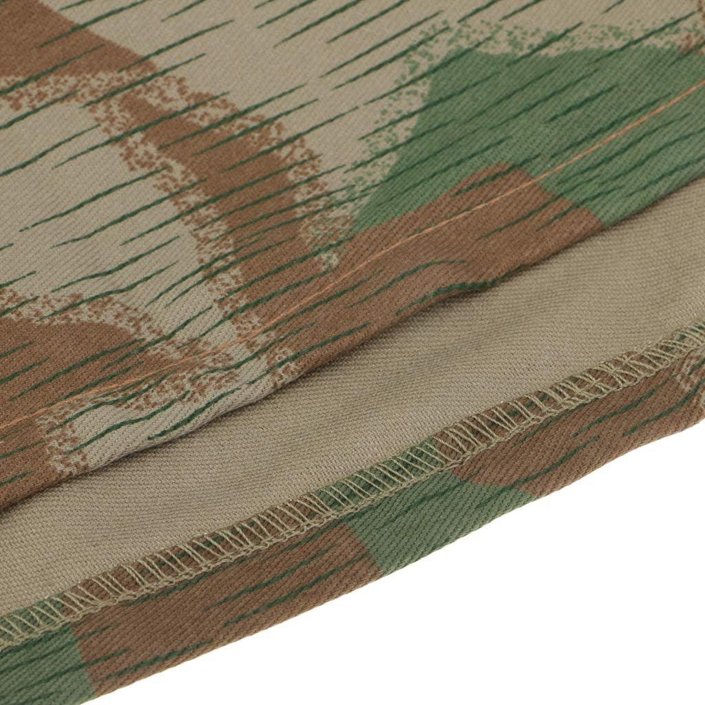 Injoyo 2pcs R/éplique WWII Allemand M35 M40 M42 Couverture De Casque Splinter Camo