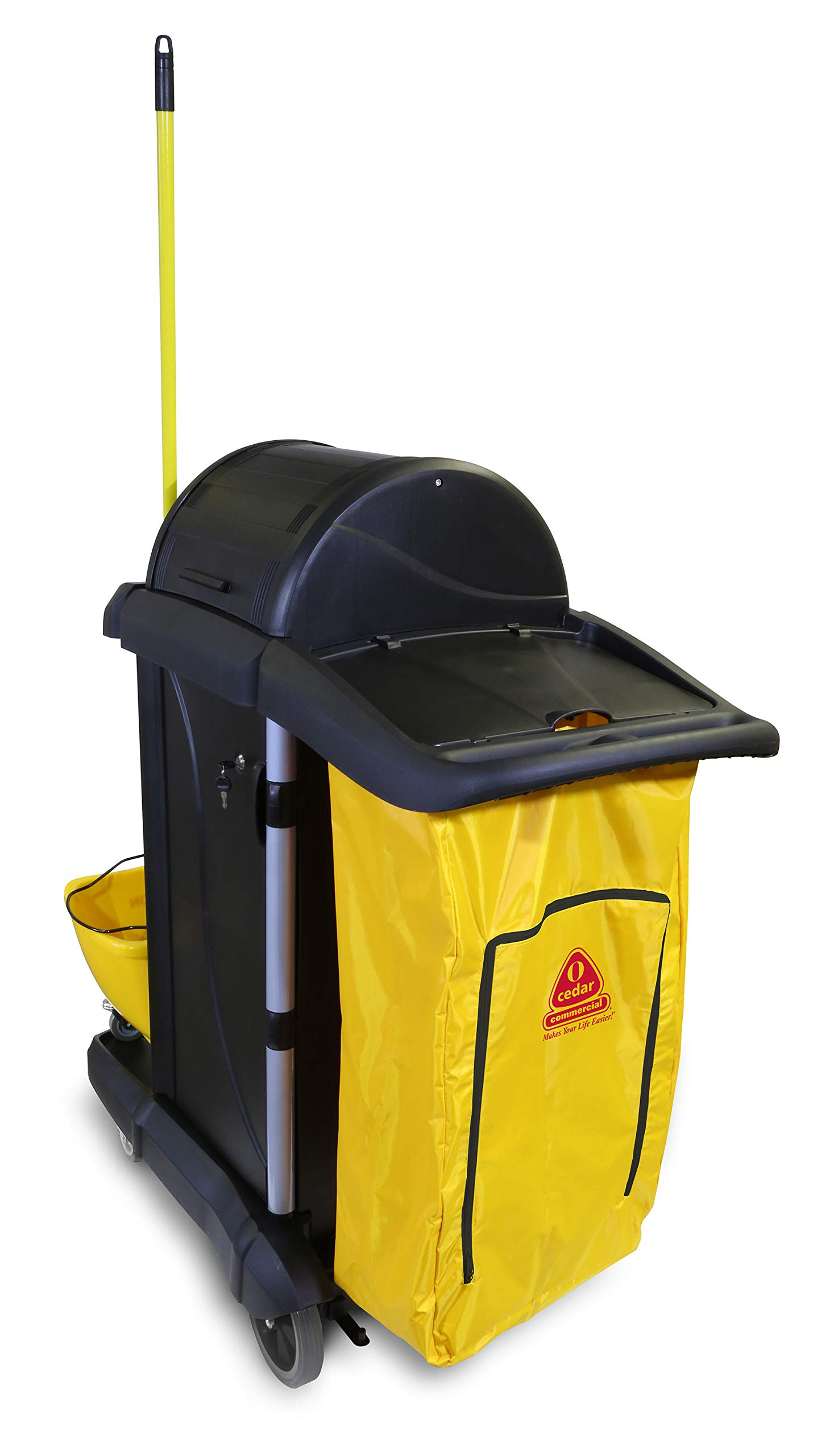 O'Cedar Commercial 96997 MaxiPlus Deluxe Janitor Cart (Pack of 1) by O-Cedar Commercial (Image #1)