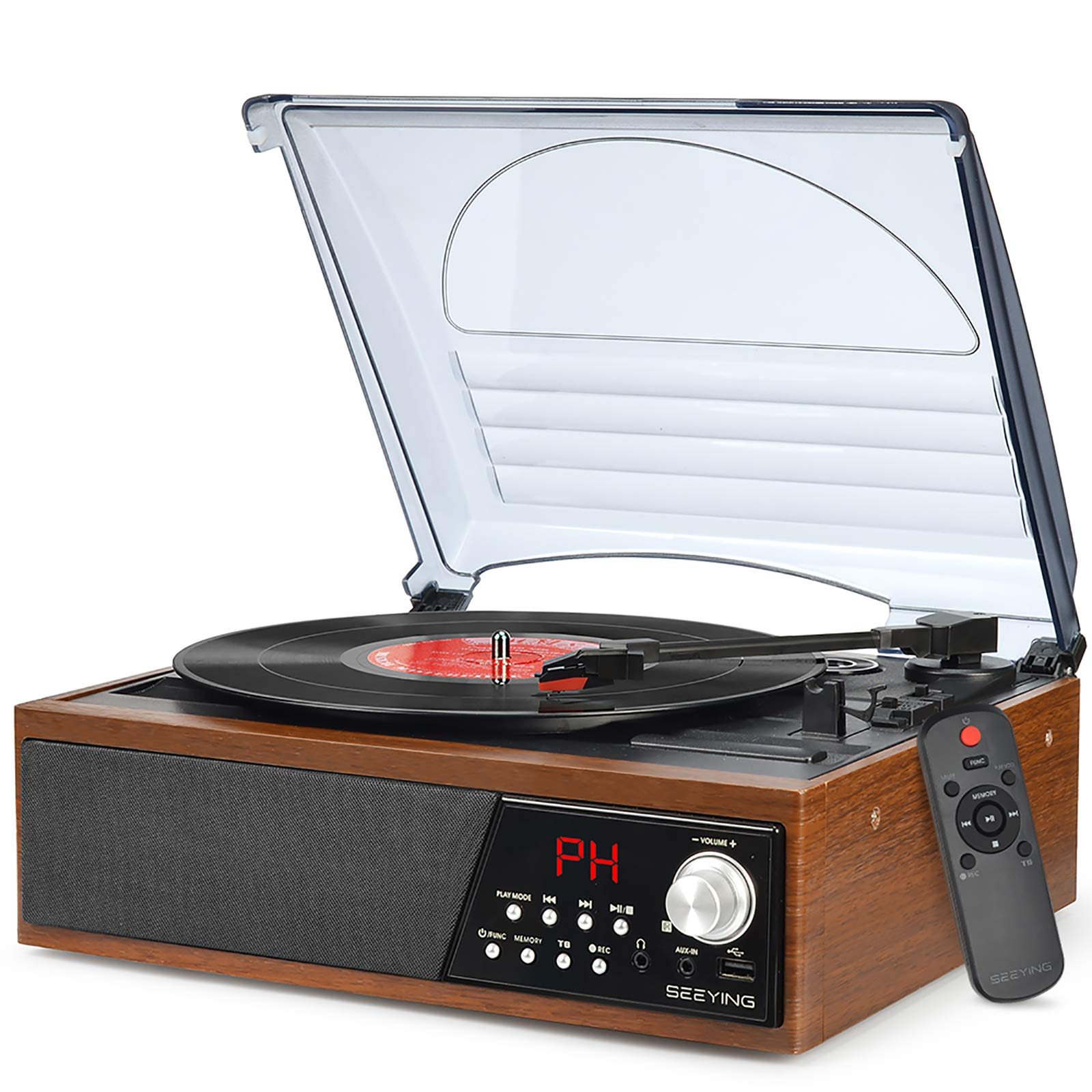 Turntable Player (Brown)