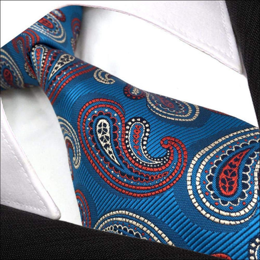 shlax&wing - Corbata - Paisley - para hombre azul azul petróleo ...