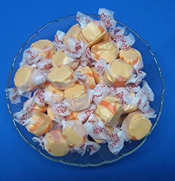 Orange Flavored Taffy Town Salt Water Taffy 2 Pounds