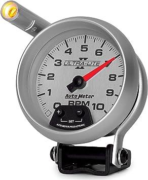 Auto Meter 233911 Autogage Pedestal Mount Shift-Lite Tachometer Gauge