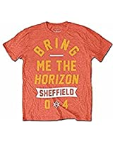 BRING ME THE HORIZON - SHEFFIELD 04' - OFFICIAL MENS T SHIRT