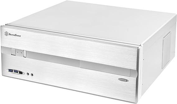 Silverstone SST-LC10-E HTPC - Caja de ordenador de sobremesa (ATX, 430 x 170.2 x 429 mm, driver 3.5