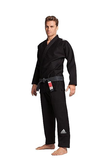 adidas Response Traje de BJJ (Jiu-jitsu brasileño), color negro o azul