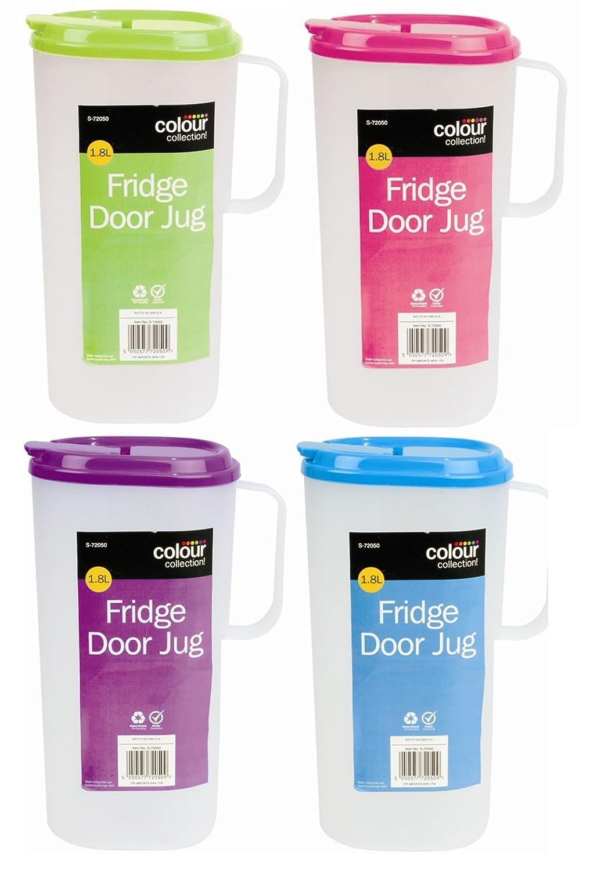 Milk or Juice 1x Fridge Door Jug 1.8L Colour at Random