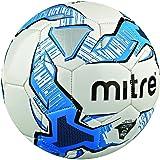Mitre Pallone da calcio, da allenamento Impel, Bianco (Weiß/Blau/Schwarz), 5