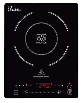 bkitchen Cook 400 - Placa de inducción superplana con Placa ...