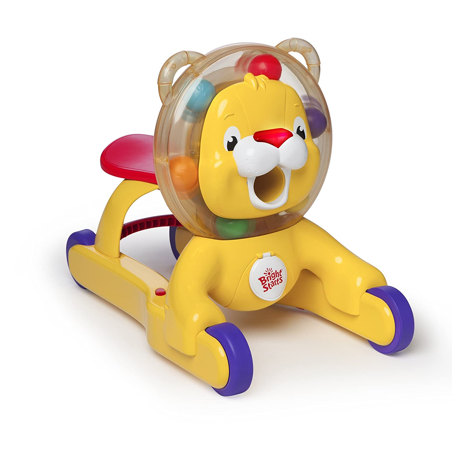 Amazon Bright Starts Baby Toy 3 in 1 Roaring Fun Lion Baby