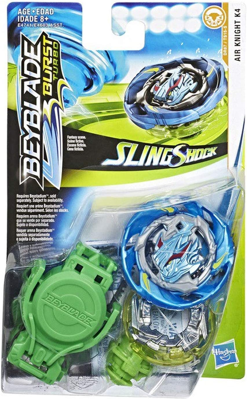 Starter Pack Beyblade Brust Turbo Sling Shock Peonza con Lanzador ...