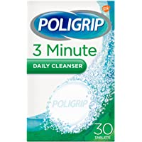 Poligrip Pastillas de limpieza de dentaduras postizas, 3