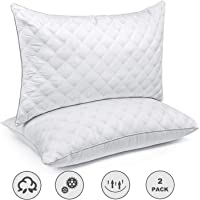 SORMAG Bed Pillows for Sleeping(2-Pack) Luxury Hotel Collection Gel Pillow Good for Side and Back Sleeper & Hypoallergenic