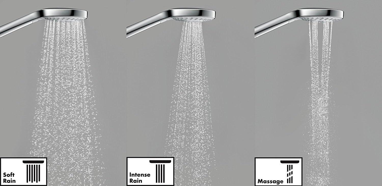Hansgrohe 26794000 Croma Select S 280 Air columna de ducha, ahorro ...
