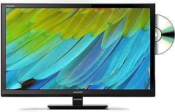 Sharp 24 h HD led TV con TDT HD Ready y una función de Reproductor de DVD: Amazon.es: Electrónica