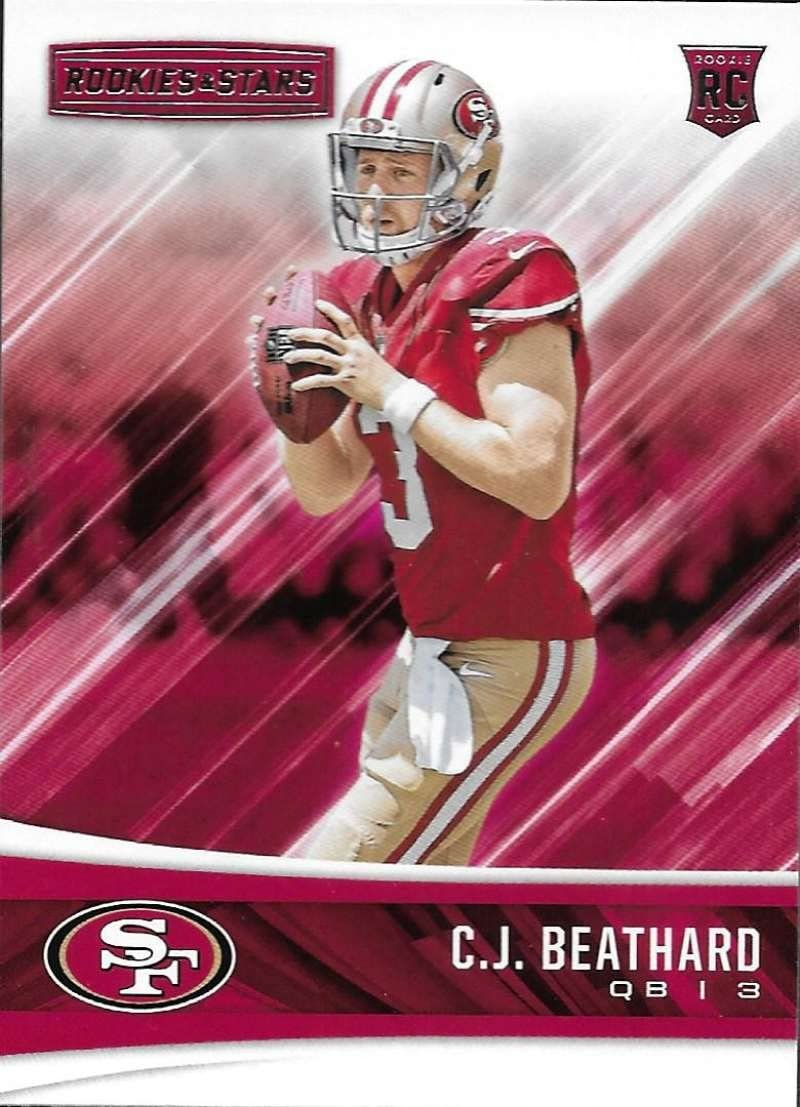 2017 Rookies and Stars #253 C.J Beathard Rookie 49ers
