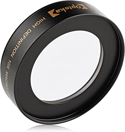 52mm 58mm w//Stepping Ring 52-58mm Macro Lens Nikon D5600 10x High Definition 2 Element Close-Up