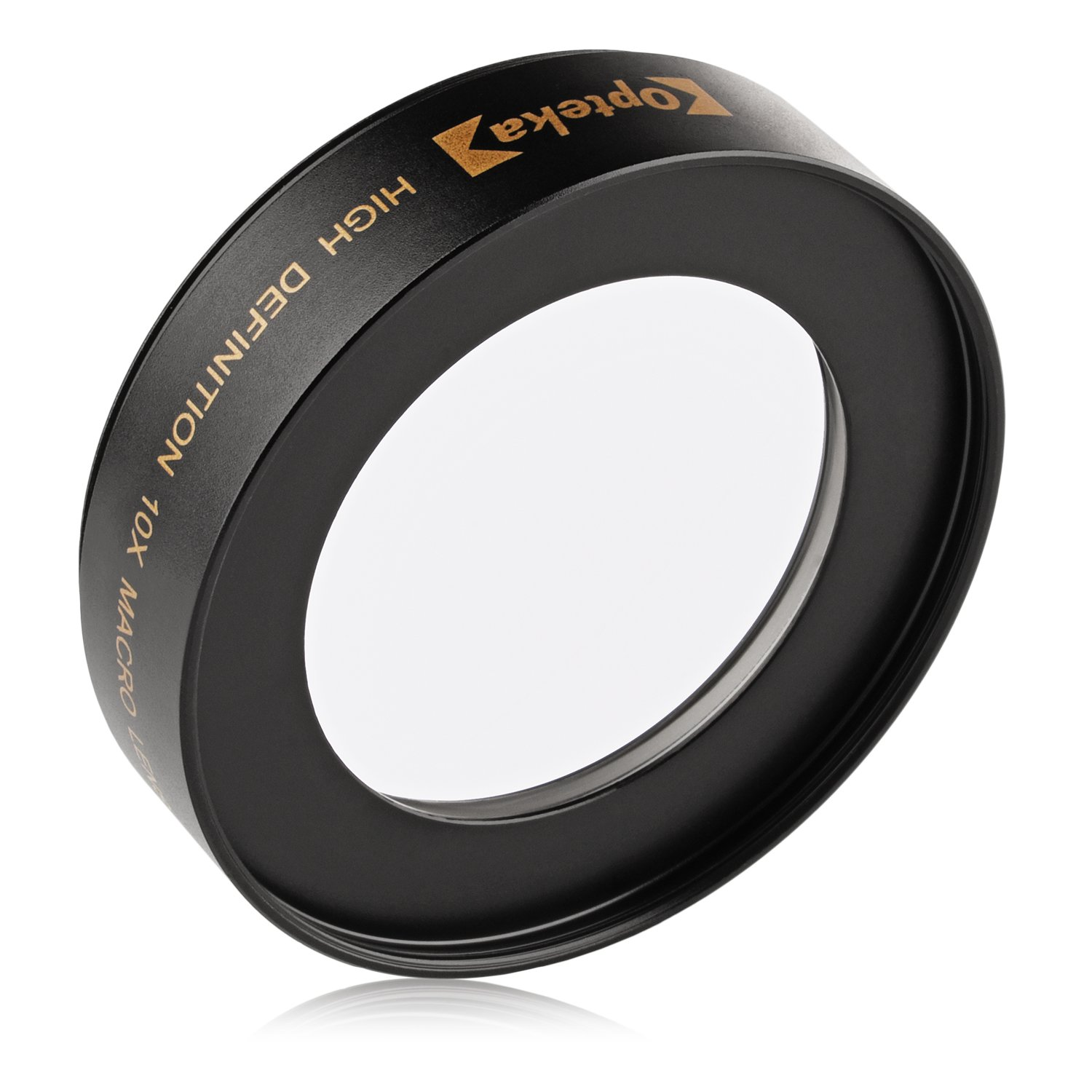 Opteka Achromatic 10x Diopter Macro Lens for Nikon D5, D4, D810, D800, D750, D610, D500, D7200, D7100, D7000, D5500, D5300, D5200, D3300, D3200 Digital SLR Cameras (Fits 52mm and 67mm Threaded Lenses) by Opteka