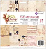 Prima Marketing 655350992088 8x8 Collection Kit - Love Clippings Art