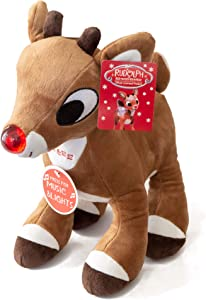 "Rudolph Plush 11"" Musical The Red Nosed Reindeer - Plays Song"