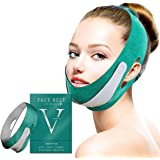 Face Slimming Strap, Double Chin Reducer, V line face lifting belt for improving Sagging skin, Anti Wrinkle and firming…