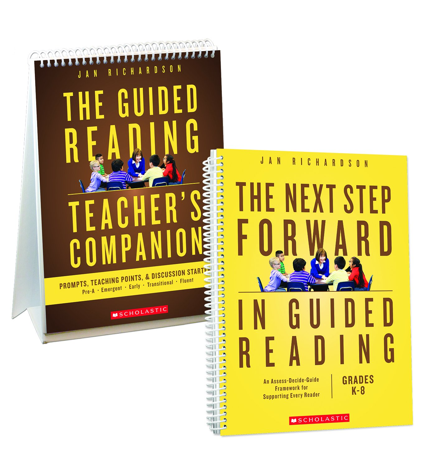 The Next Step Forward in Guided Reading book + The Guided Reading Teacher's Companion by Scholastic