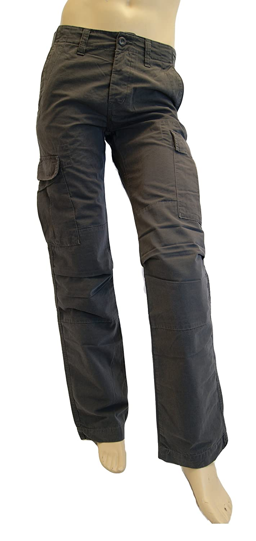 Carhartt. Mens Blacksmith Grey Cargo Pant. Style Flint Motown