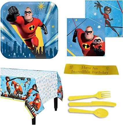 Amazon.com: Incredibles suministros para fiestas de ...