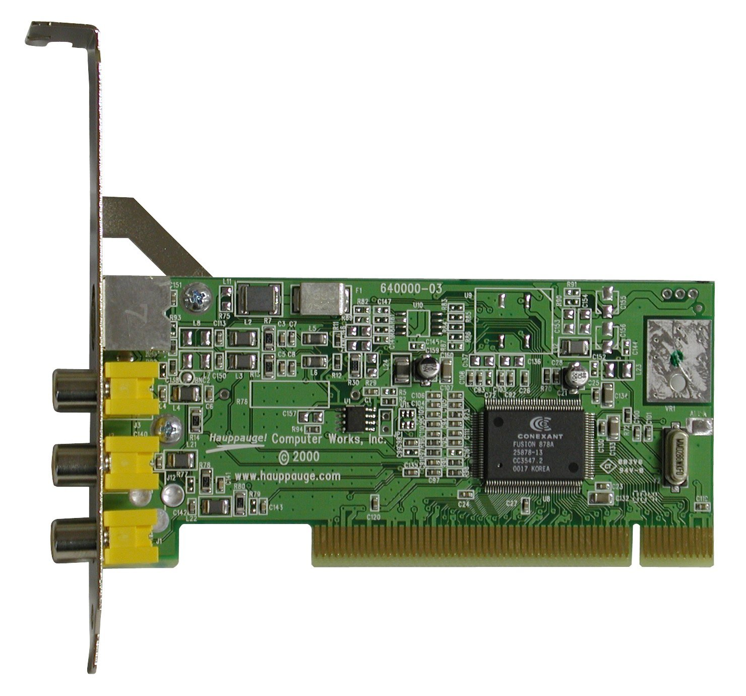 Hauppauge 558 ImpactVCB Full Height PCI Video Capture Card 558