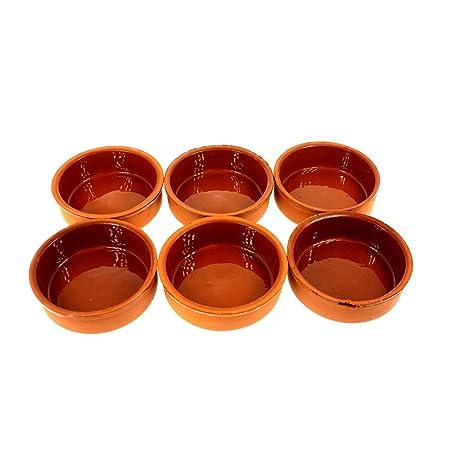 technic24 güvec, de 6 piezas olla de barro (I Ideal para platos ...