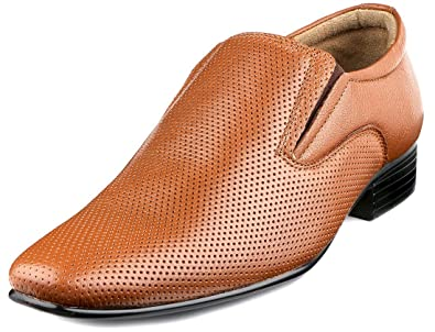 bf1f8f4a0c43f Escaro New York Genuine Leather Formal Slip-On Dress Shoes for Men