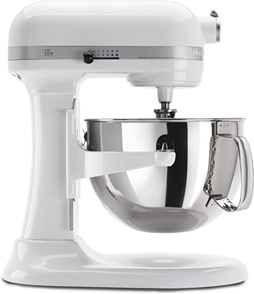 KitchenAid KP26M1XWH 6 Qt. Professional 600 Series Bowl-Lift Stand Mixer - White: Amazon.co.uk: Kitchen & Home