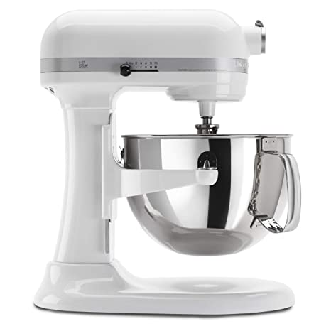 KitchenAid KP26M1XWH 6 Qt. Professional 600 Series Bowl-Lift Stand Mixer - White