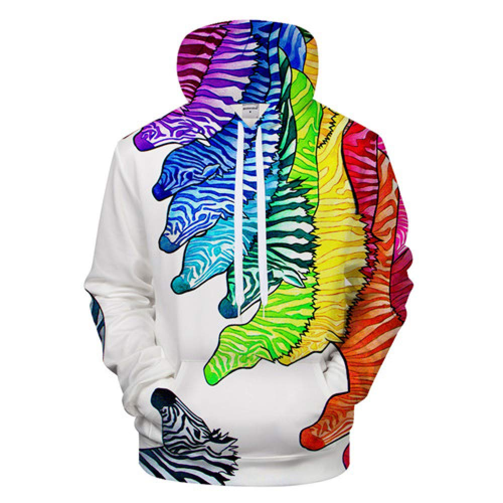 GUQIYA 3D Tier Hoodies Weatshirt   Pullover Trainingsanzug Streatwear