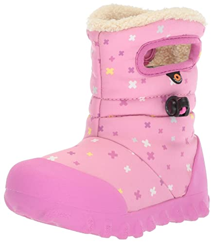 49afd6d427 Bogs Baby B-Moc Waterproof Insulated Kids/Toddler Winter Boot, Plus  Print/Pink/Multi, 5 M US