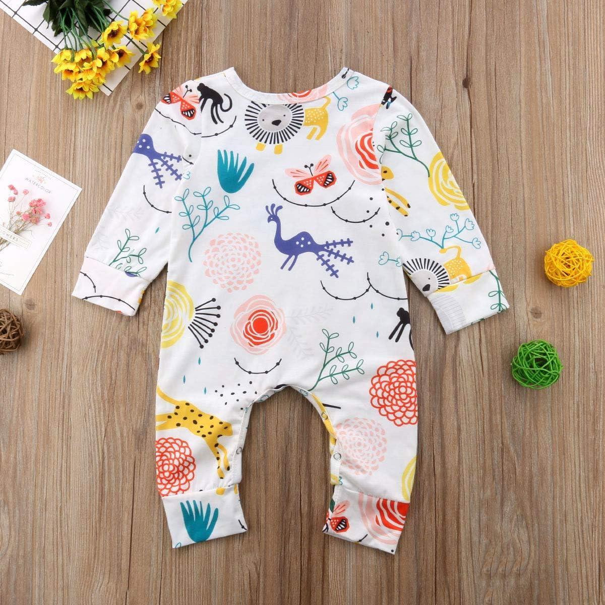 TJTJXRXR Infant and Toddler Baby Girls Cartoon Denim Dinosaur Printed Pants and Trousers