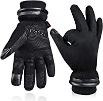 OZERO -40 ℉ Waterproof Winter Gloves for Men and Women - Touch Screen Fingers and Silicon Palm - Windproof Thermal in...