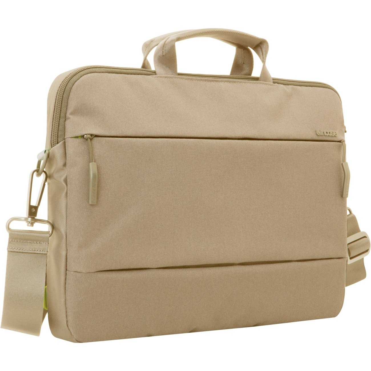 Incase City Collection Brief Bag for 15'' MacBook Pro, Dark Khaki