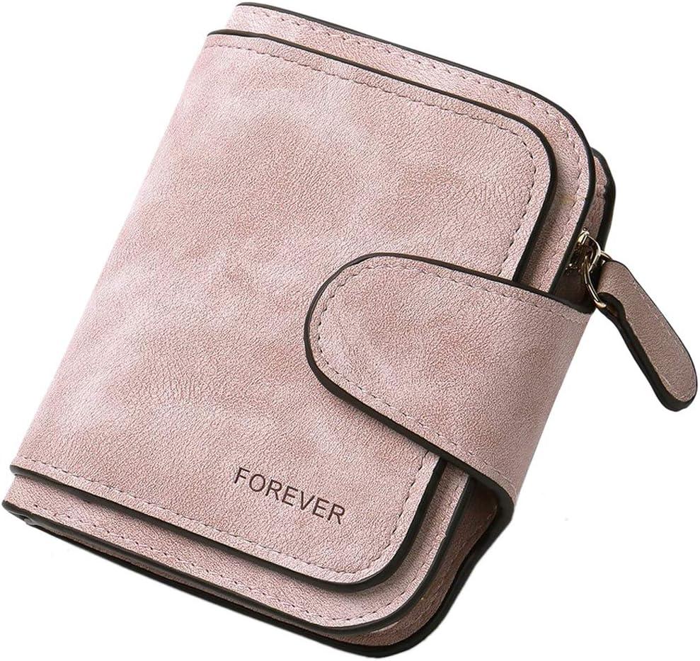 Whole Lotta Cat Womens RFID Blocking Zip Around Wallet Genuine Leather Clutch Long Card Holder Organizer Wallets Large Travel Purse