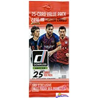 2019 Panini Donruss Soccer EXCLUSIVE Factory Sealed JUMBO FAT PACK with 25 Cards including (3) PRESS PASS RED PARALLELS! Look for Autos of Ronaldo, Messi, Pele, Pulisic, Neymar & Many More! WOWZZER!