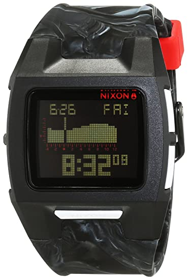 Nixon Reloj para Mujer de con Correa en Silicona A2811611-00: Amazon.es: Relojes