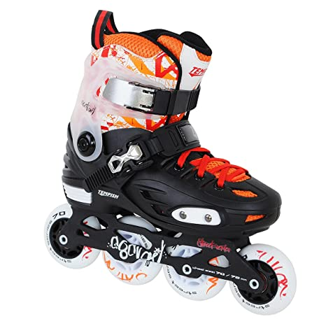 TEMPISH COCTAIL freestyle-junior-Patines ajustables talla M, 4 números del 34 al