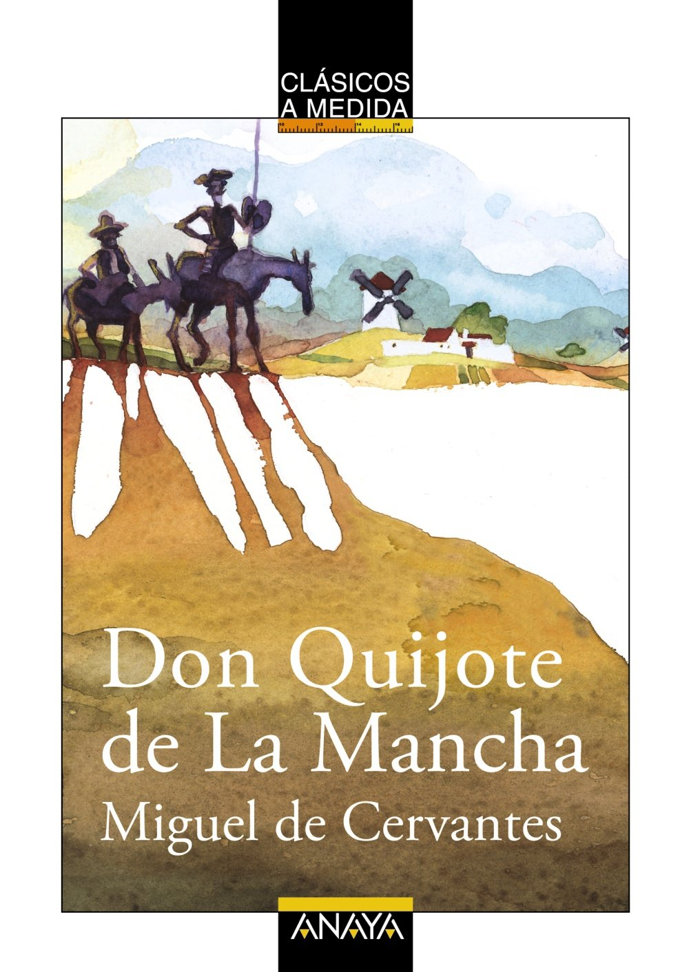 Download Don Quijote De La Mancha/ Don Quixote De La Mancha (Clasicos a Medida / Measured Classics) (Spanish Edition) pdf