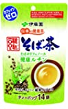 伊藤園 伝承の健康茶 韃靼100% そば茶 ティーバッグ 14袋