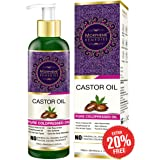 Morpheme Remedies Pure Cold Pressed Castor Oil for Hair and Skin, 120ml