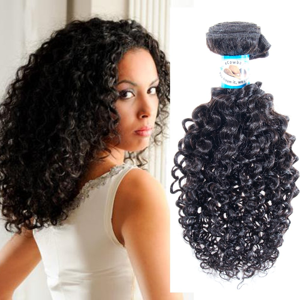 Amazon Jerry Curl Virgin Remy Hair Brazilian Can Be Dyed