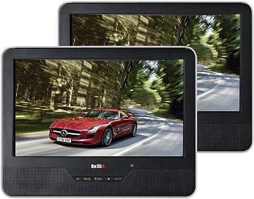 Belson BSL9D - DVD portátil 9 (USB, Estereo, LCD) Color Negro: Amazon.es: Electrónica