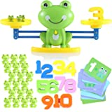 Lemostaar Balance Math Game: Educational Toys Math Games for Kids Boys & Girls - STEM Learning Material Counting Toys - Fun S