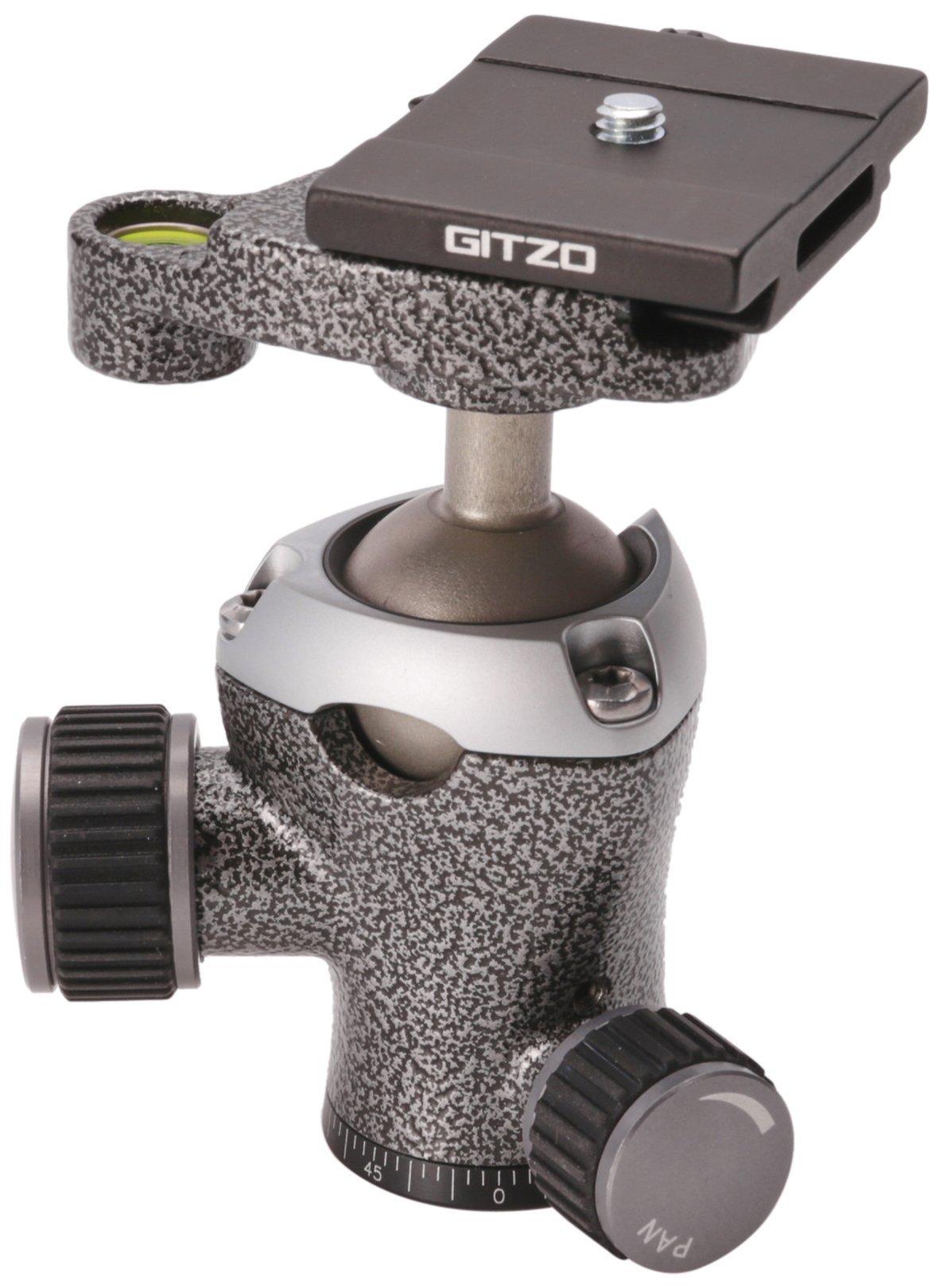 Gitzo GH1382TQD Center Ball Head Series 1 Traveler with Quick Release D (Black) by Gitzo