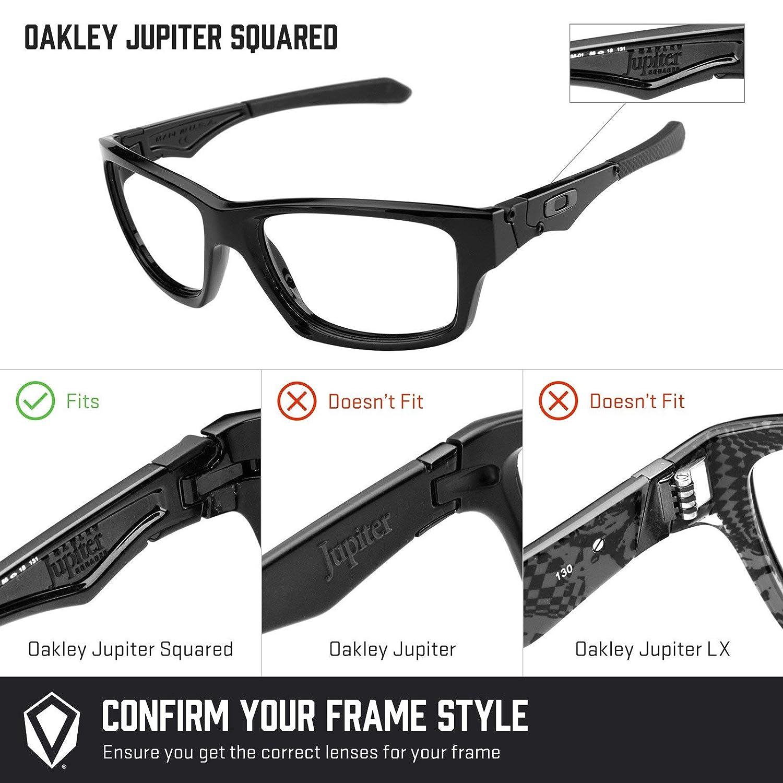 Revant Lentes de Repuesto Oakley Jupiter Squared, No Polarizados ...